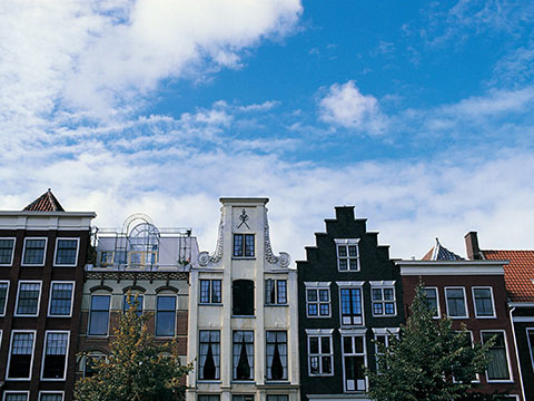 Canal Houses Amsterdam The Netherlands