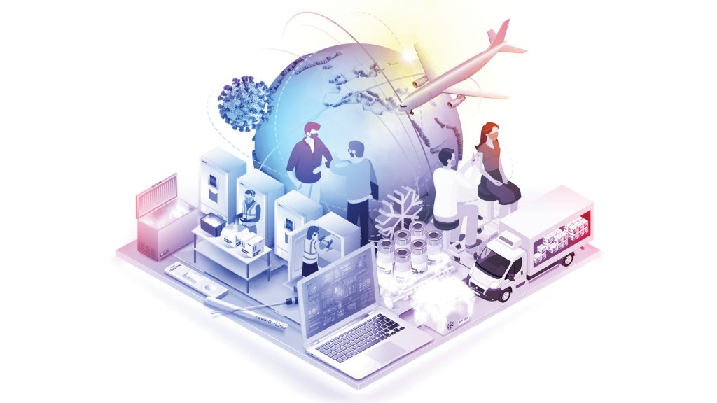 Logistics and supply chain management have played a vital role in pandemic management right from the start.